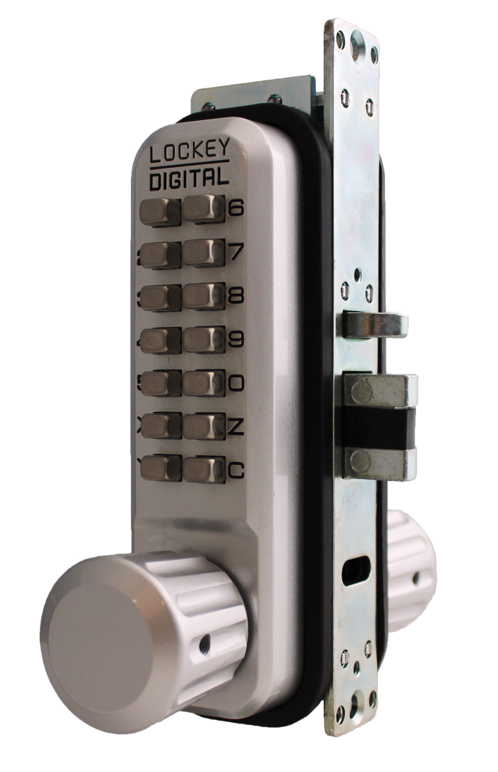 Lockey 2930DC MG Keyless Mechanical Digital Adams Rite Style Latch Double